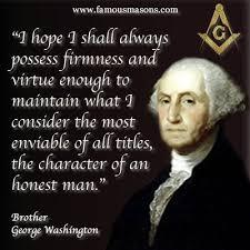 Brother George Washington | Famous freemasons, George washington quotes,  Freemasonry